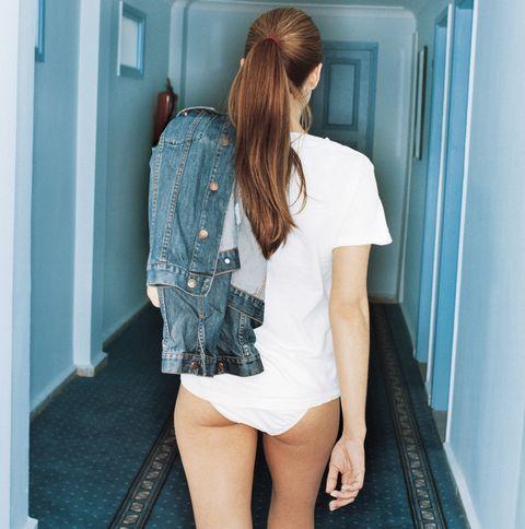 Blue, Clothing, Shoulder, Leg, Beauty, Denim, Fashion, Shorts, Human leg, Thigh,