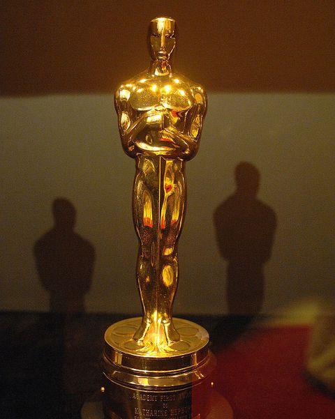 Trophy, Award, Brass, Metal, Glass,