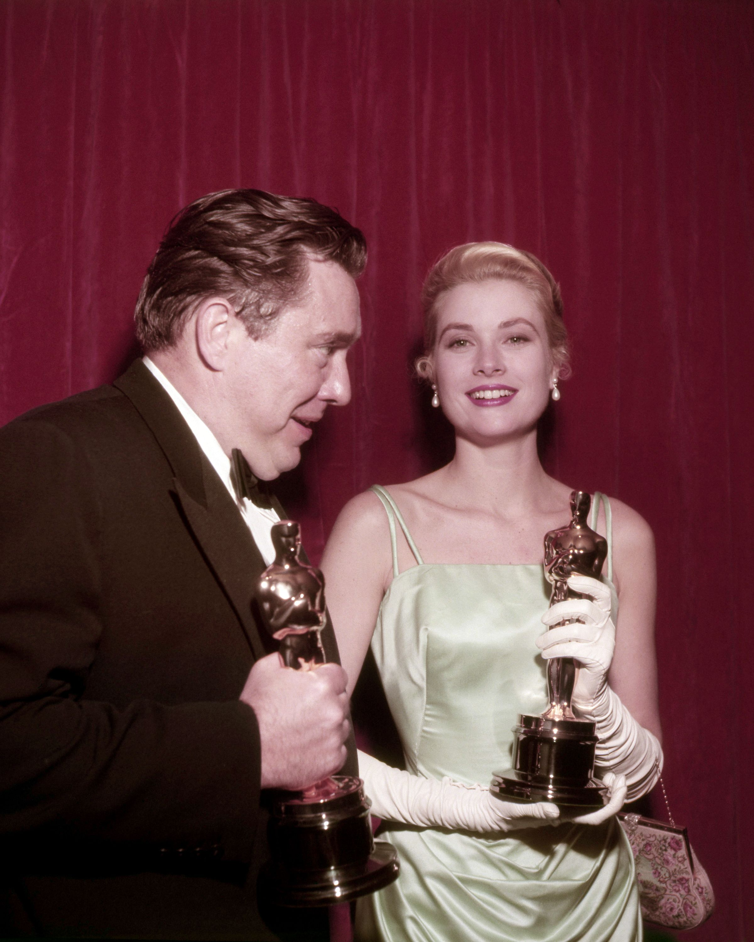 Grace Kelly Edith Head Oscars