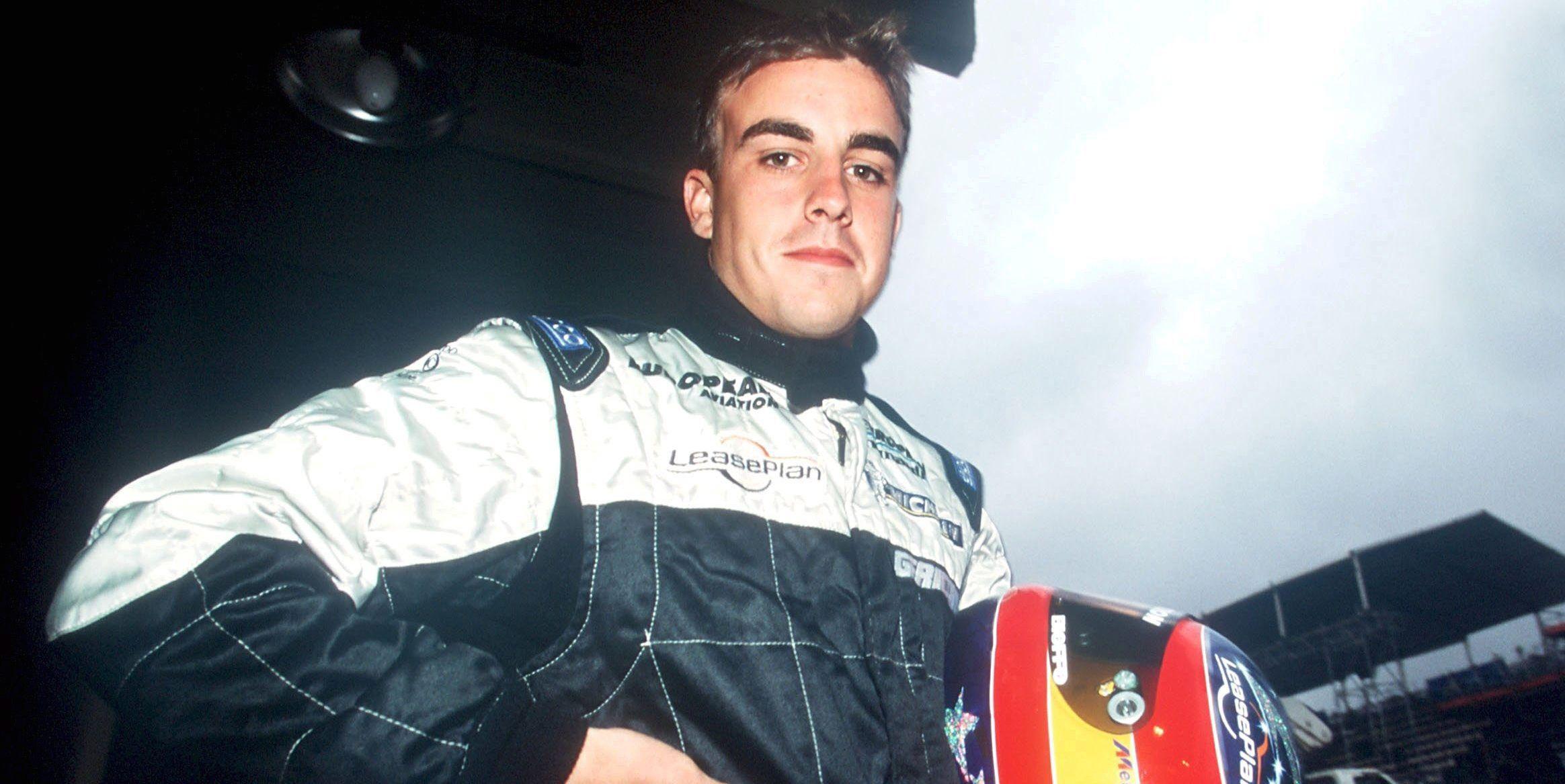 Fernando Alonso en 2001