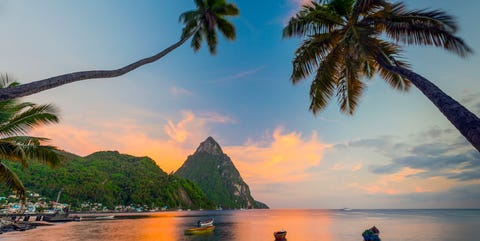Santa Lucía, destino ideal para viajes en pareja