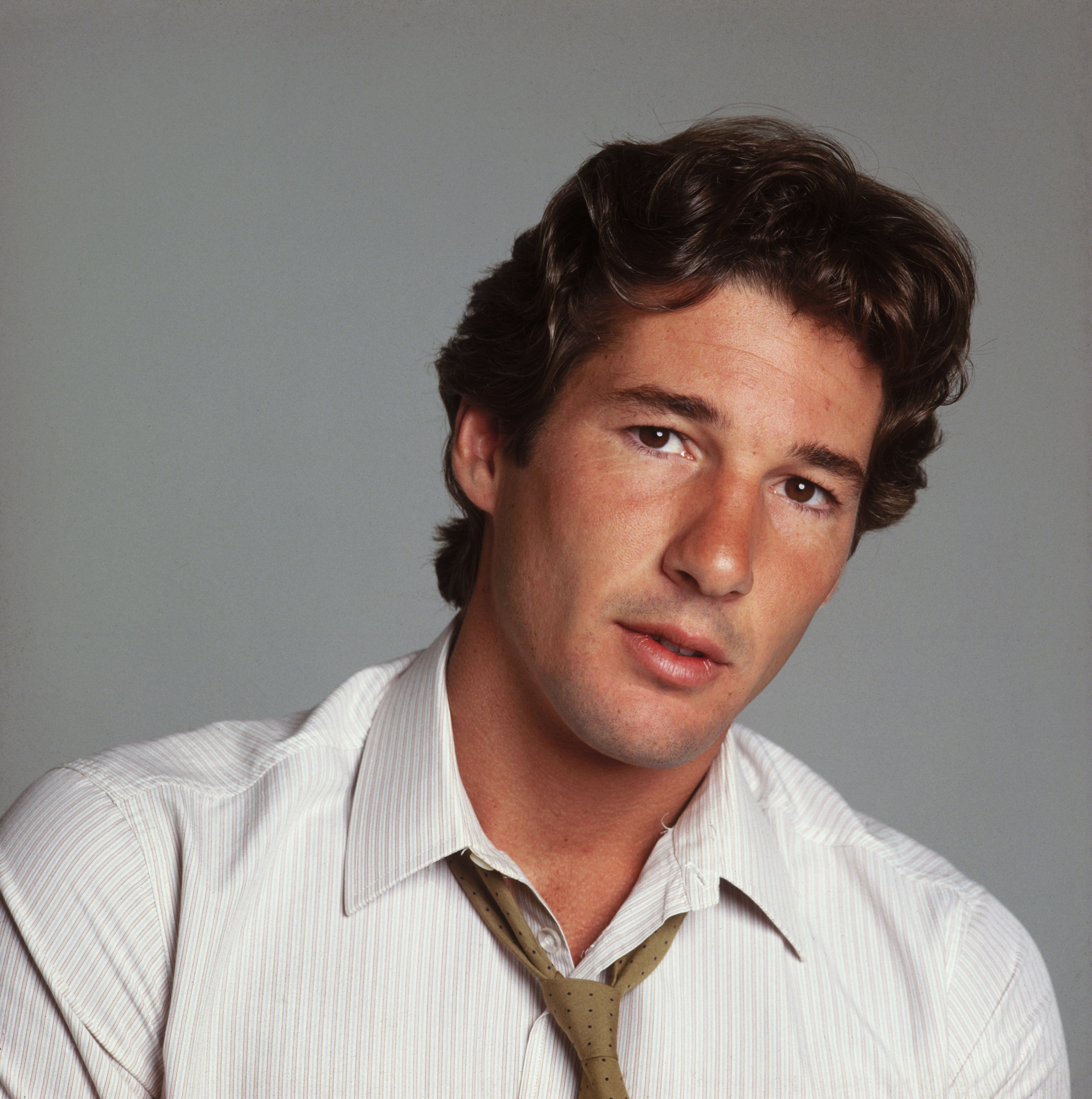 Richard Gere at 30 Gere first rose to prominence with his role in American Gigolo .