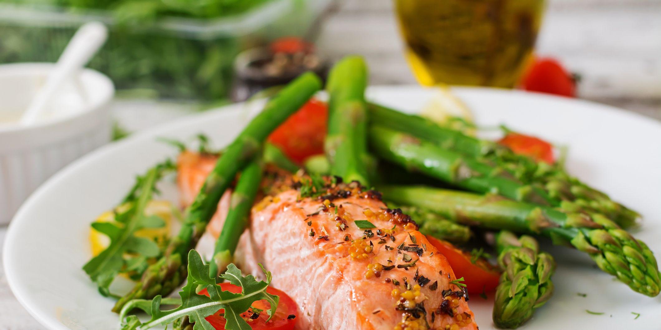 salmon dinner macros diet