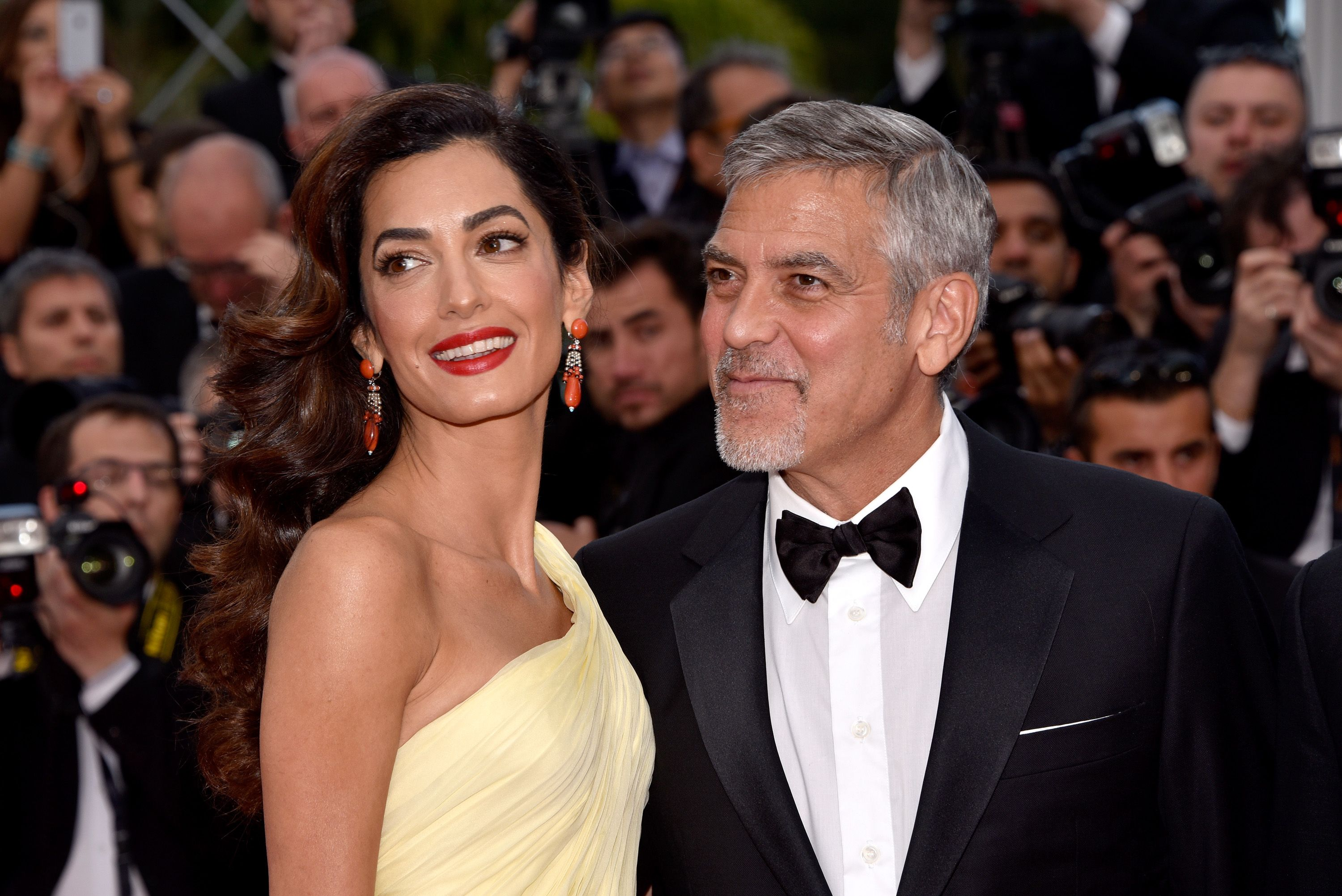 Who is george clooney dating now 2013