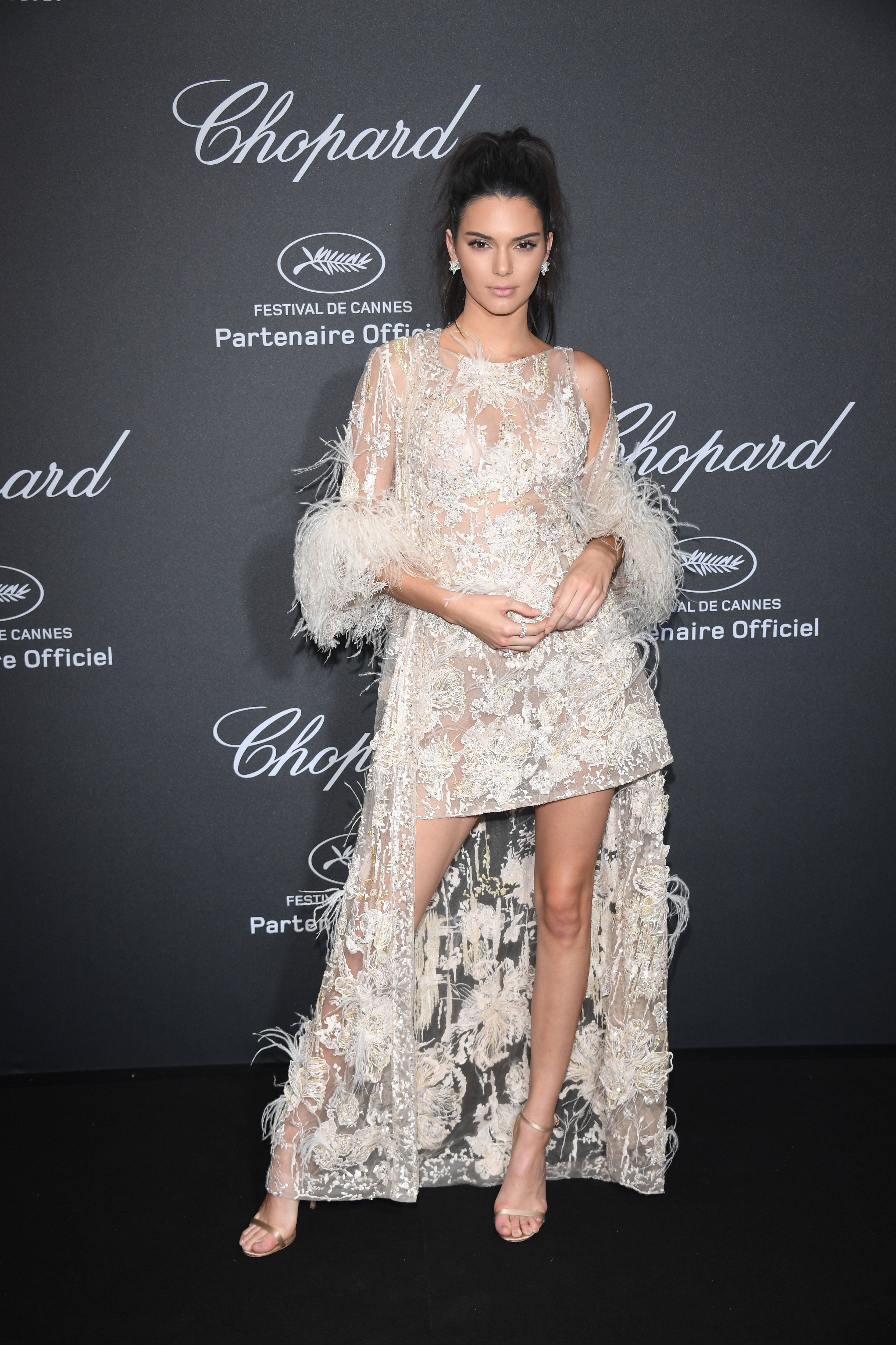 7077b12d745 Kendall Jenner's Most Naked Outfits - Kendall Jenner's Sexiest Dresses in  Pictures