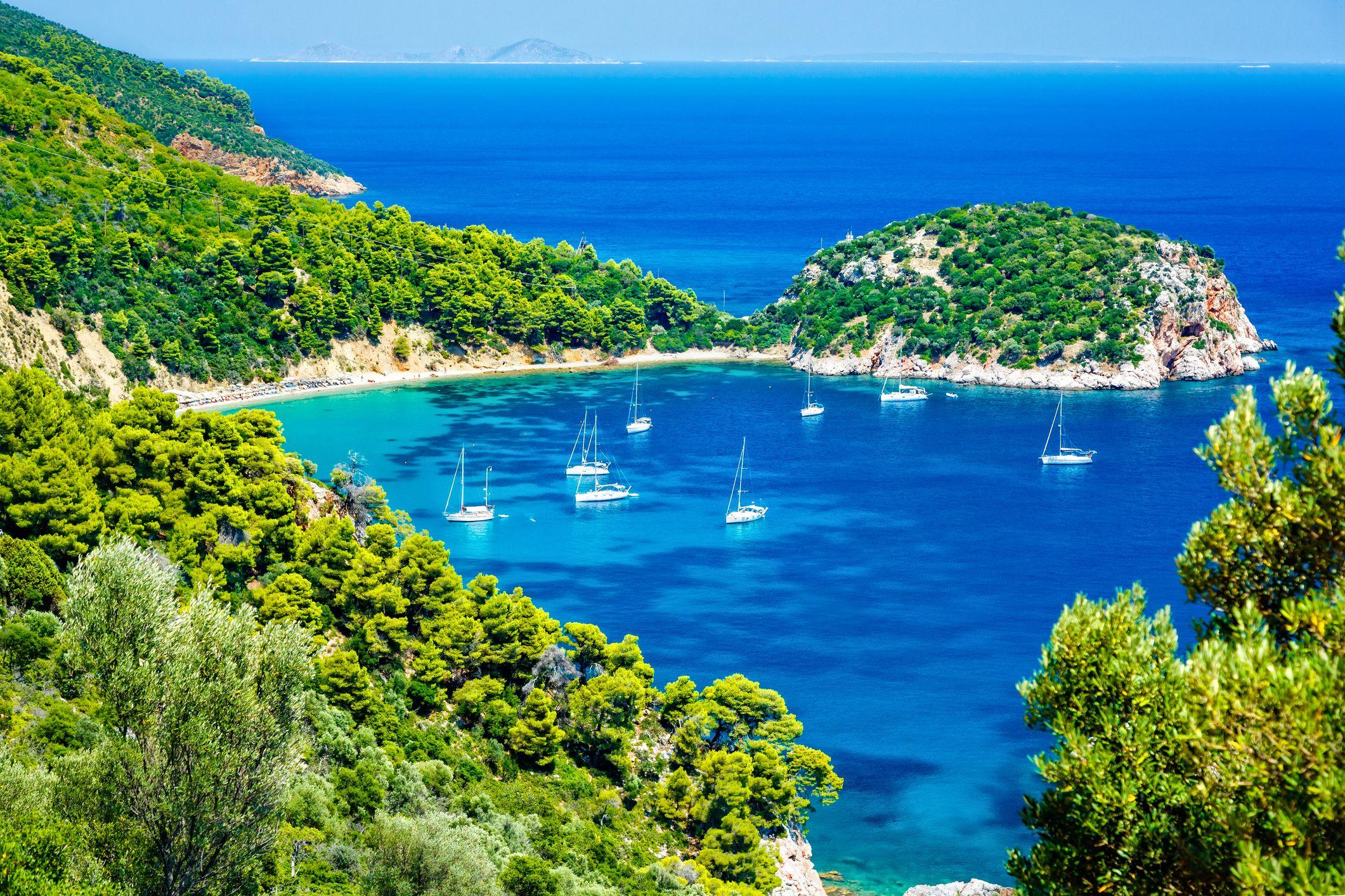 Your Getaway Guide to Skopelos Island, Where Mamma Mia Was Filmed