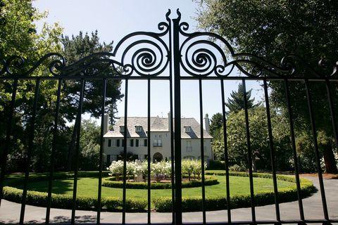 Iron, Metal, Botany, Architecture, Tree, Park, Gate, Building, Garden, Plant,