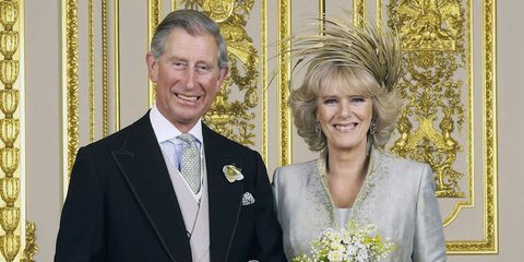 Prince Charles And Camilla S Wedding Day