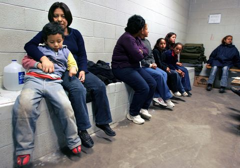 USA - Immigration Detention Center in Nogales