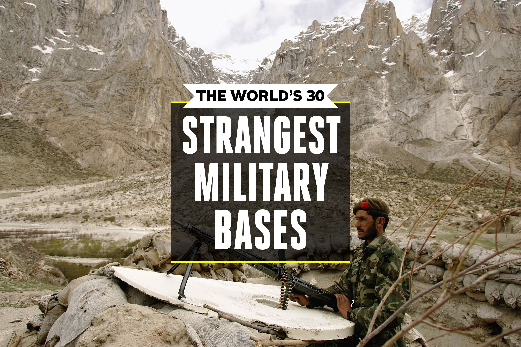 The World's 30 Strangest Military Bases