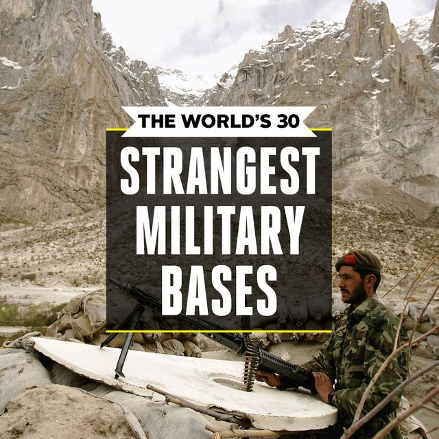 Strange Military Bases - Military Base Locations 2019