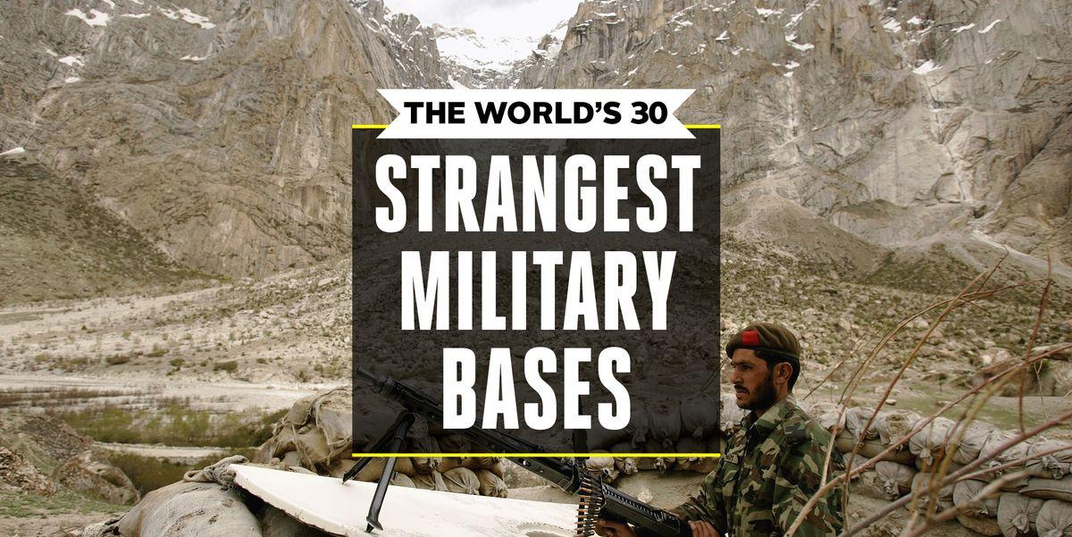 Strange Military Bases Military Base Locations 2019