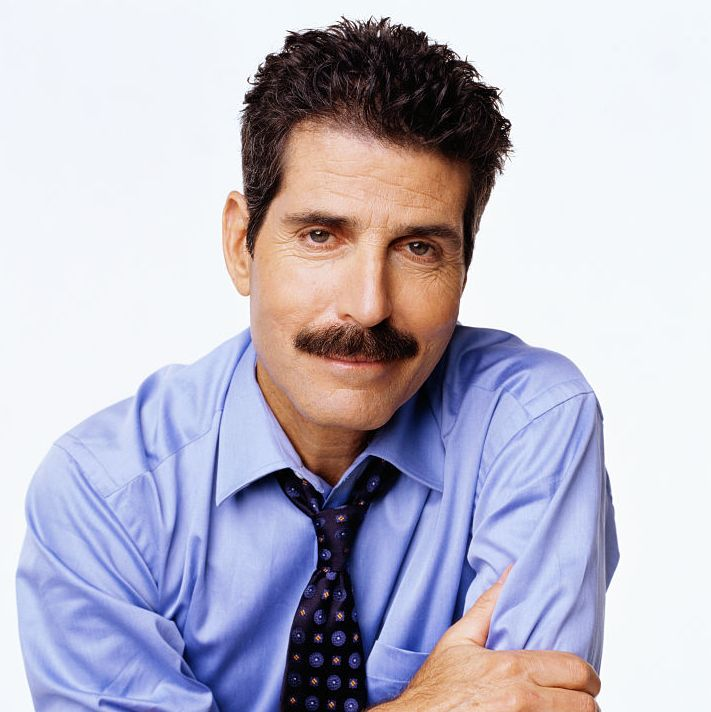 2000: John Stossel The longtime former ABC news co-anchor and correspondent graced our TV screens for years with his trademark mustache that became a key part of his media image.