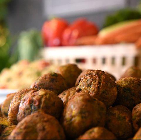 Food, Dish, Meatball, Cuisine, Ingredient, Vegetarian food, Produce, Local food, Side dish, Tuber,