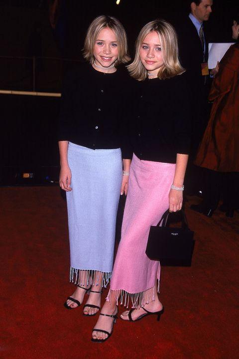 california, united states   december 15  twin actresses mary kate and ashley olsen at the film premiere of anna and the king  photo by george dabrowskidmithe life picture collection via getty images