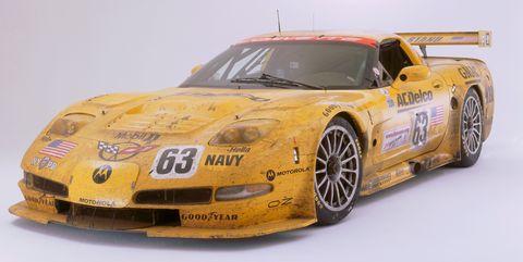Land vehicle, Vehicle, Sports car, Car, Race car, Sports car racing, Coupé, Yellow, Model car, Performance car,