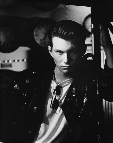 christian slater in leather jacket photo by © aaron rapoportcorbis outlinecorbis via getty images