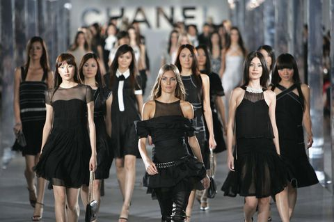 Chanel Fashion Show Held In Maglev Train Station In Shanghai