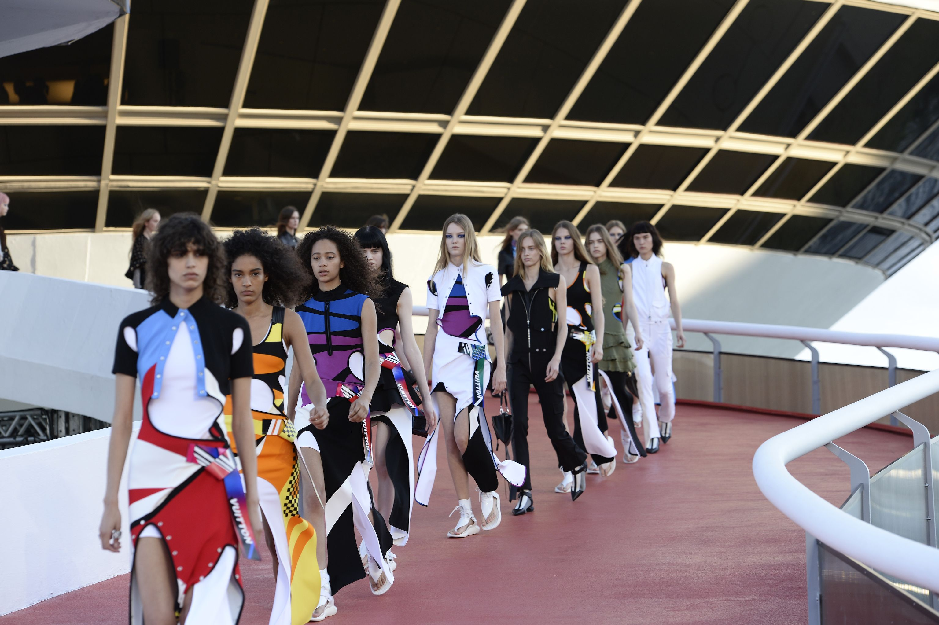 Watch the Louis Vuitton Cruise 2020 Show at JFK Airport