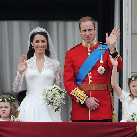 uk   wedding of prince william  kate middleton   buckingham palace photo by stephane cardinalecorbis via getty images