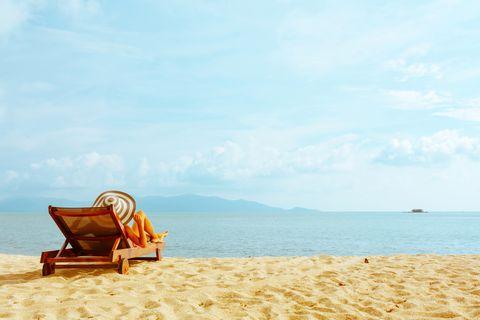 Beach, Sky, Blue, Sand, Vacation, Product, Sea, Summer, Travel, Sitting,