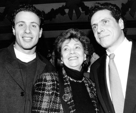 Matilda Cuomo With Her Sons Chris Cuomo and Andrew Cuomo