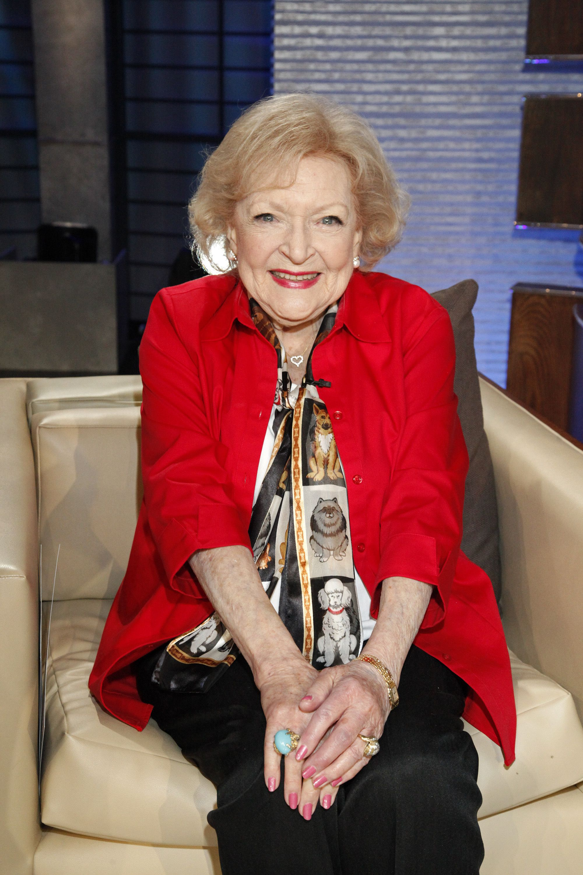 Betty White Shares the Secret to Her Long Life