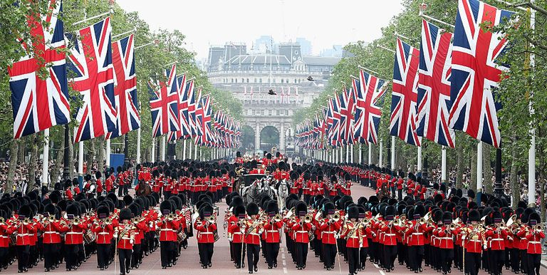 45 Trooping the Colour Pictures From the Last 250 Years - Photos of ...