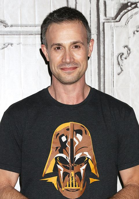 new york, ny   june 07  freddie prinze, jr attends aol build speaker series to discuss back to the kitchen at aol studios in new york on june 7, 2016 in new york city  photo by laura cavanaughfilmmagic