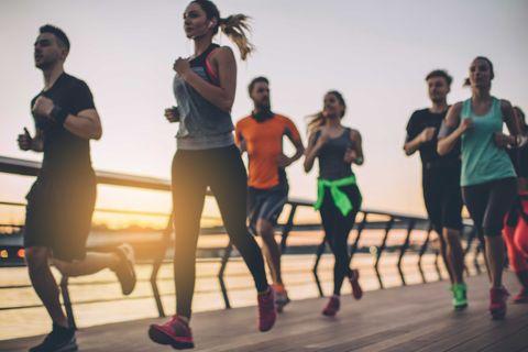 entrenamiento, definitivo, carrera, 10 kilómetros