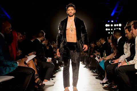 Fashion, Runway, Fashion show, Event, Fashion design, Fashion model, Public event, Human, Performance, Design,