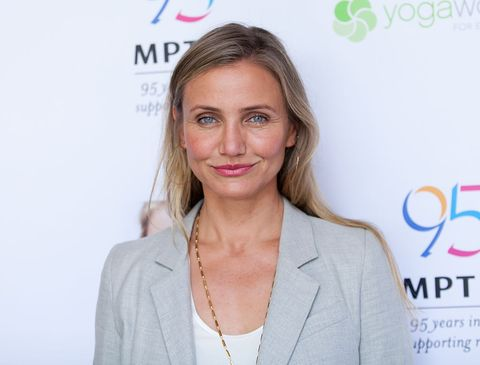 woodland hills, ca   june 10  cameron diaz attends the mptf celebration for health and fitness at the wasserman campus on june 10, 2016 in woodland hills, california  photo by tibrina hobsongetty images