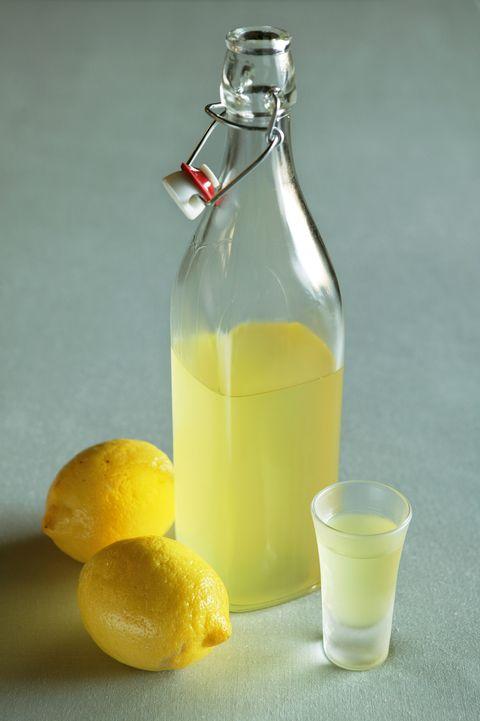recept limoncello citroen eigen tuin