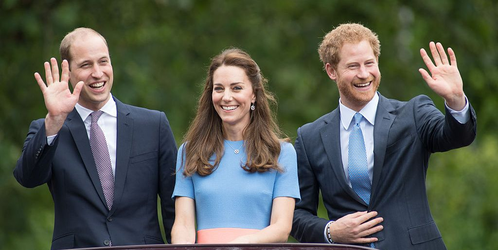 Prince William, Prince Harry, Kate Middleton, Duchess of Cambridge