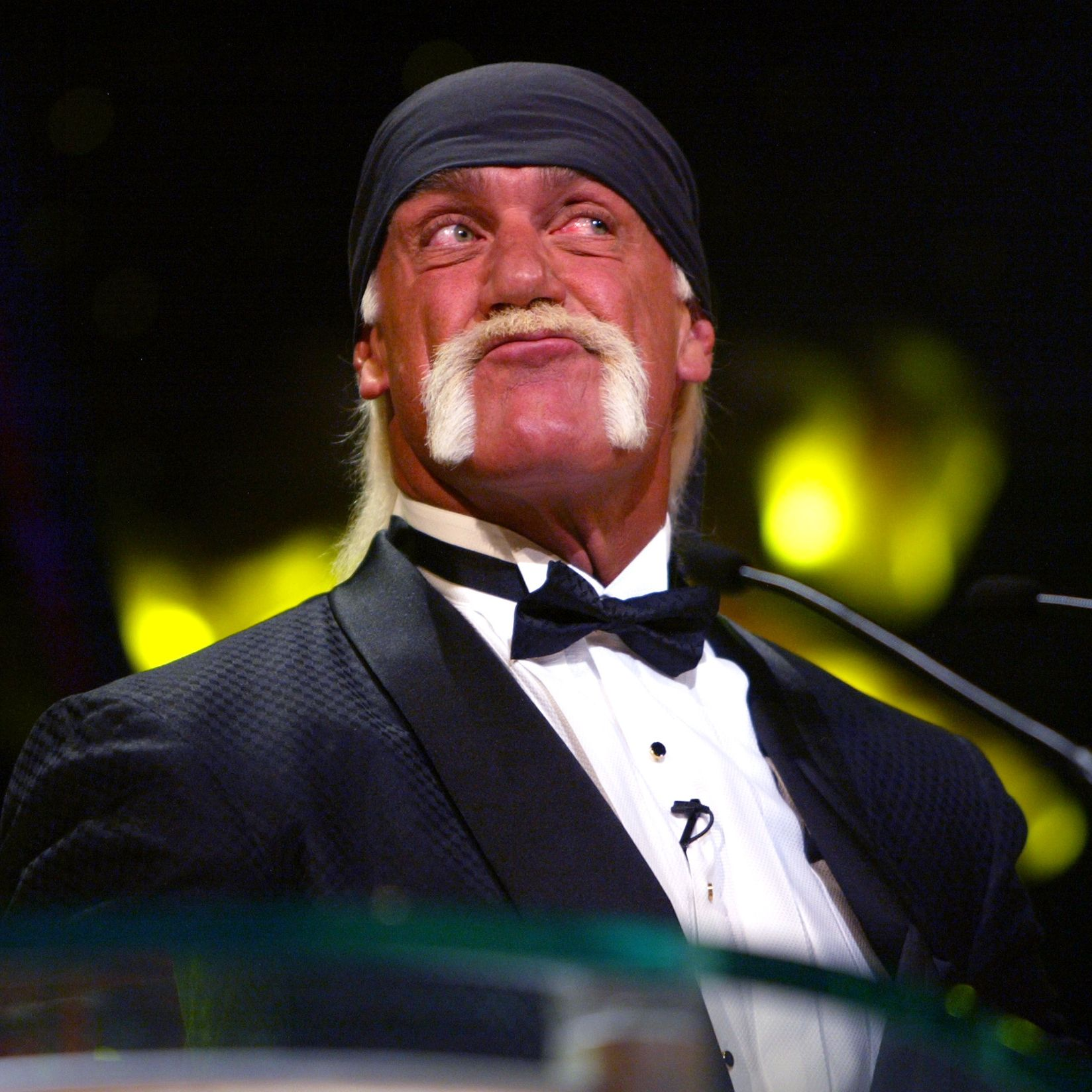 2003: Hulk Hugan The most famous WWE wrestler of all time just happens to have the most instantly recognizable mustache of his generation thanks to the bleach blonde color and dramatic horseshoe shape.