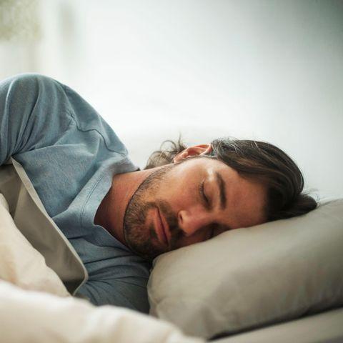Sleep, Skin, Comfort, Nap, Bed, Furniture, Forehead, Arm, Human, Shoulder,