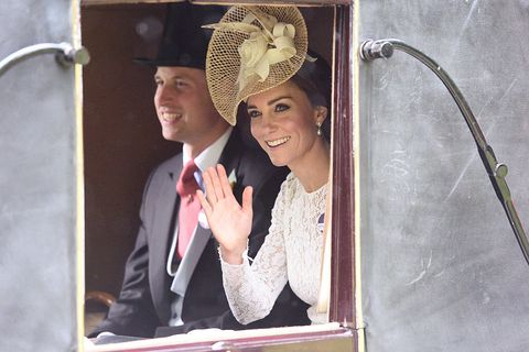 Prince William and Kate Middleton at the Royal Ascot