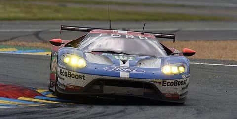Ford GT Le Mans 24 Hours 2016 race car