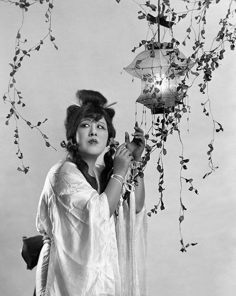 White, Black-and-white, Standing, Monochrome photography, Photography, Monochrome, Tree, Plant, Stock photography, Flower,
