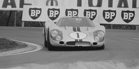 Le Mans Test Run