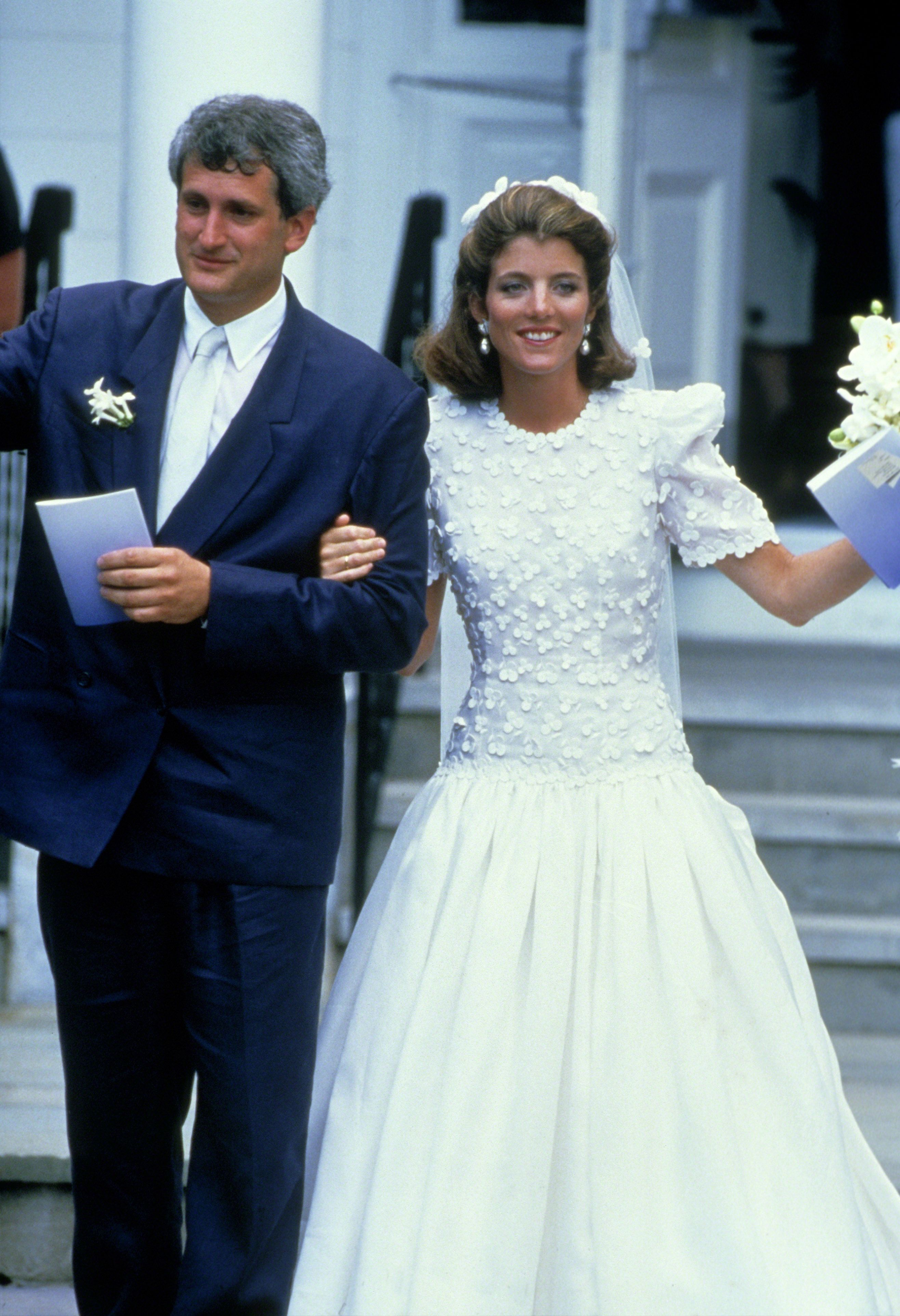 ef7215f5016 Caroline Kennedy s Wedding - Photos of Caroline Kennedy and Edwin  Schlossberg on Their Wedding Day