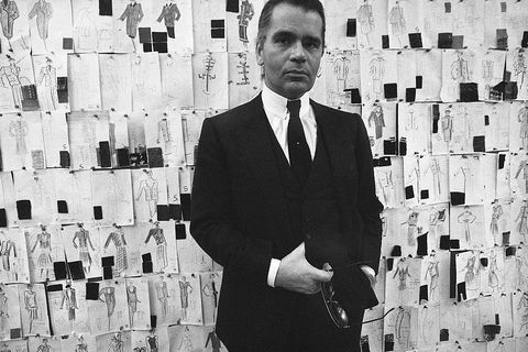 Karl Lagerfeld's first year at Chanel