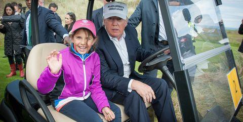 Donald Trump And Kai Trump