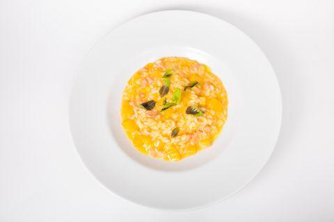 Italian rice with salmon