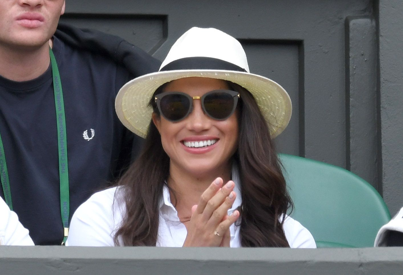 52fddd06d8a7f Meghan Markle s Madewell Panama Hat Is a Longtime Favorite of Hers