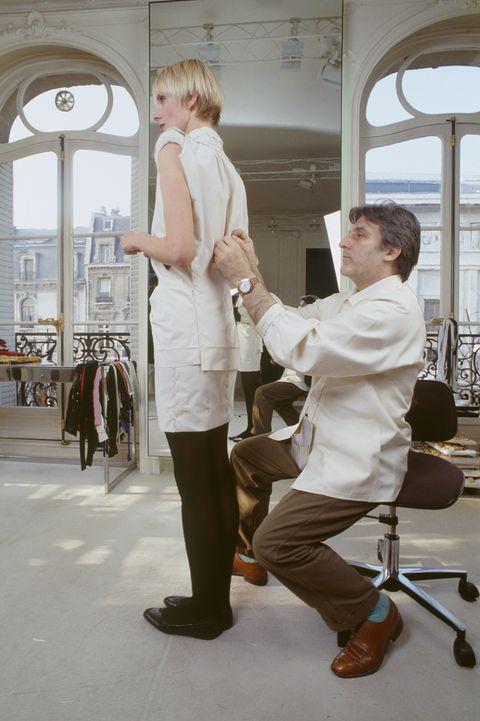Fashion Designer Emanuel Ungaro