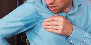 problem with sweating - hyperhidrosis