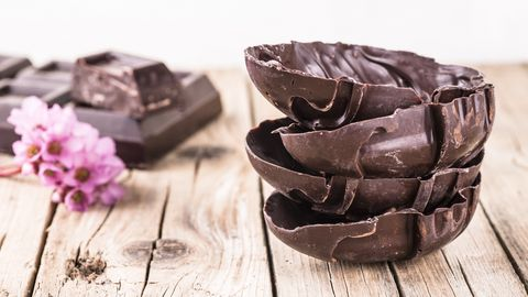 Chocolate, Brown, Food, Dessert, Muffin, Chocolate cake, Ganache, Cuisine,