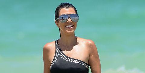 Kourtney Kardashian Celebrity Sighting In Miami - July 4, 2016