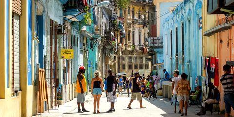Town, Neighbourhood, Street, Pedestrian, Urban area, Infrastructure, Road, City, Building, Tree,